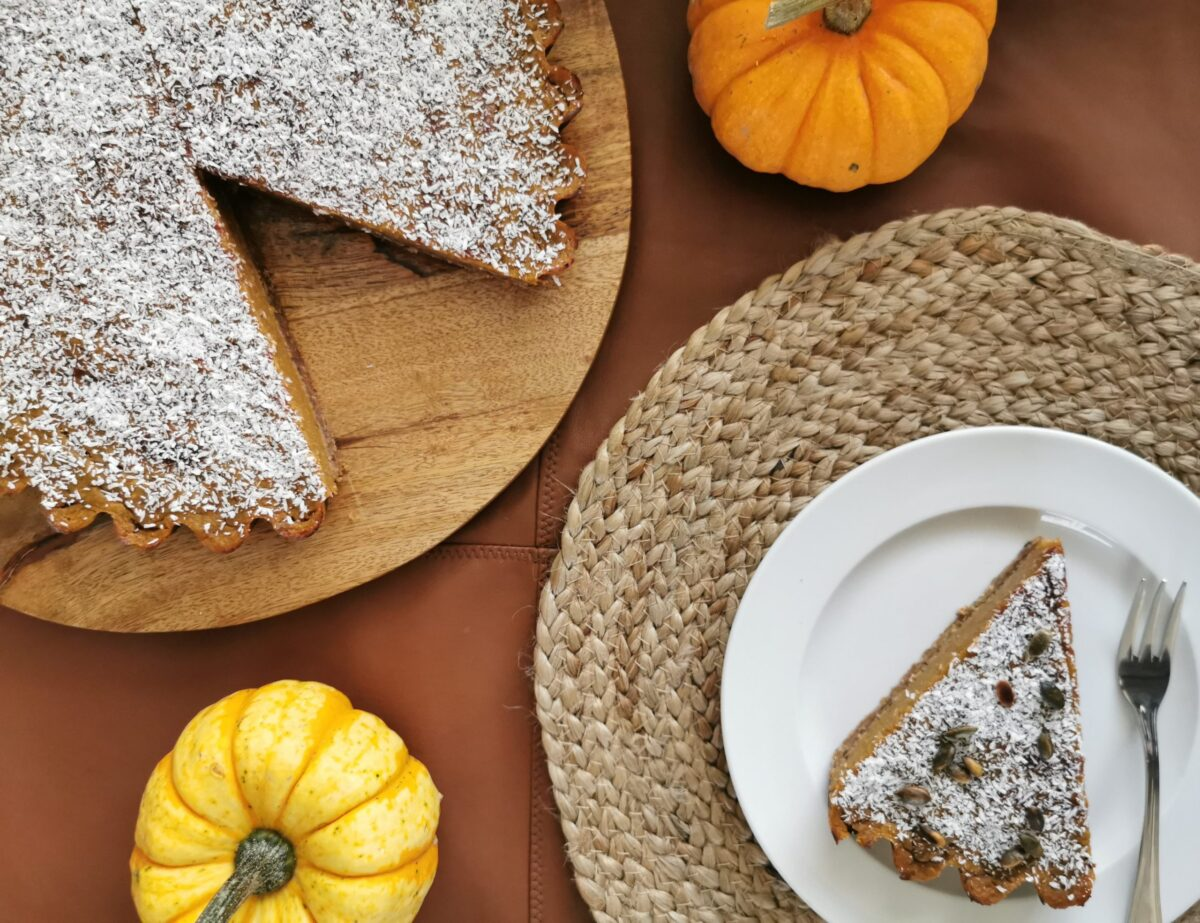 vegan Pumpkin Pie vegan toetje