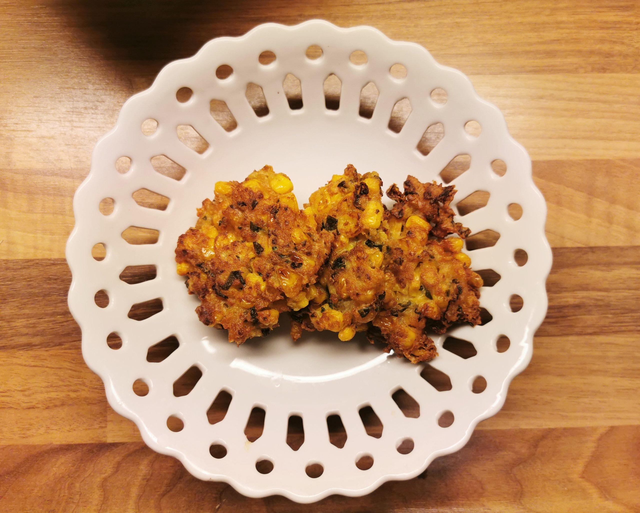 Perkedel Jagung oftewel Indische Maiskoekjes